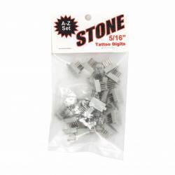 Estuche Letras Stone (A - Z)